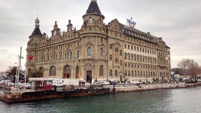 Хайдарпаша вокзал в Стамбуле