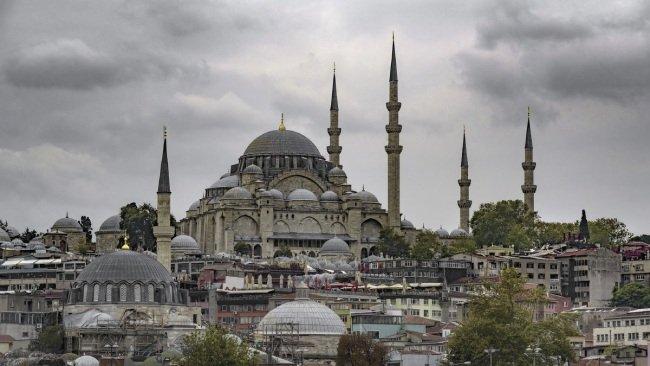 Достопримечательности Стамбула Сулеймание