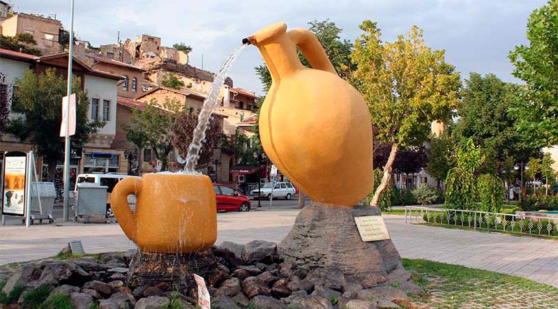 Достопримечательности Каппадокии: город Аванос