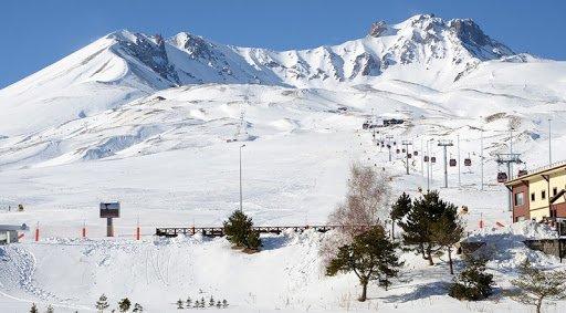 Эрджиес трасса для катания на лыжах в Турции