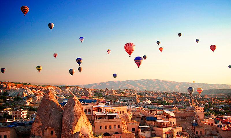 Воздушные шары в Каппадокии: цена полета и экскурсия