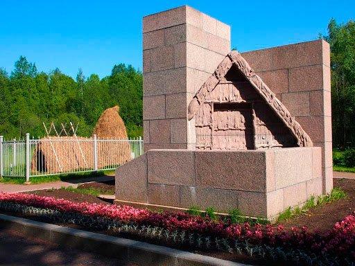 Памятник музей Шалаш в Сестрорецке