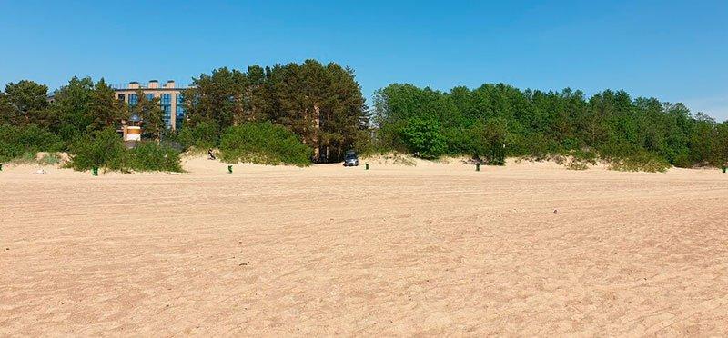 Пляж Дюны Сестрорецк