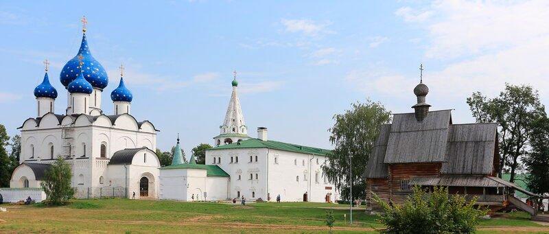 Что посмотреть в Суздале за 1 день самостоятельно: суздальский Кремль