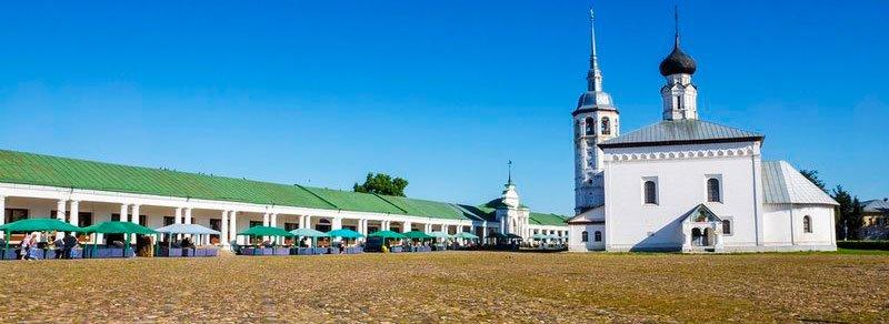 Торговая площадь в Суздале
