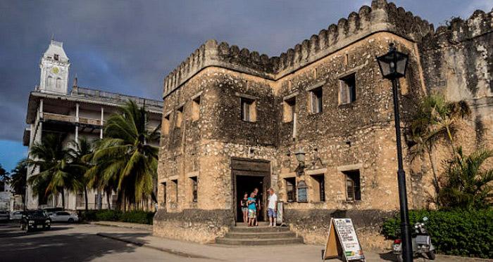 Старый форт острова Занзибар Танзания
