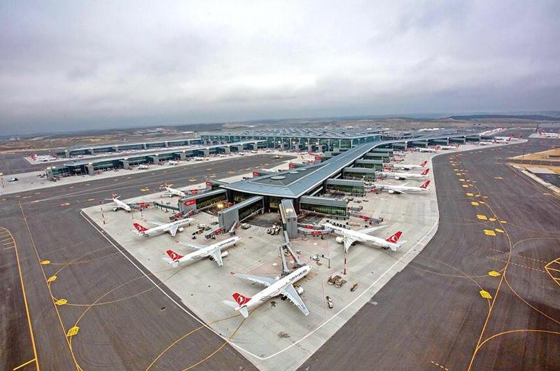 Новый аэропорт Стамбула (Istanbul Airport)