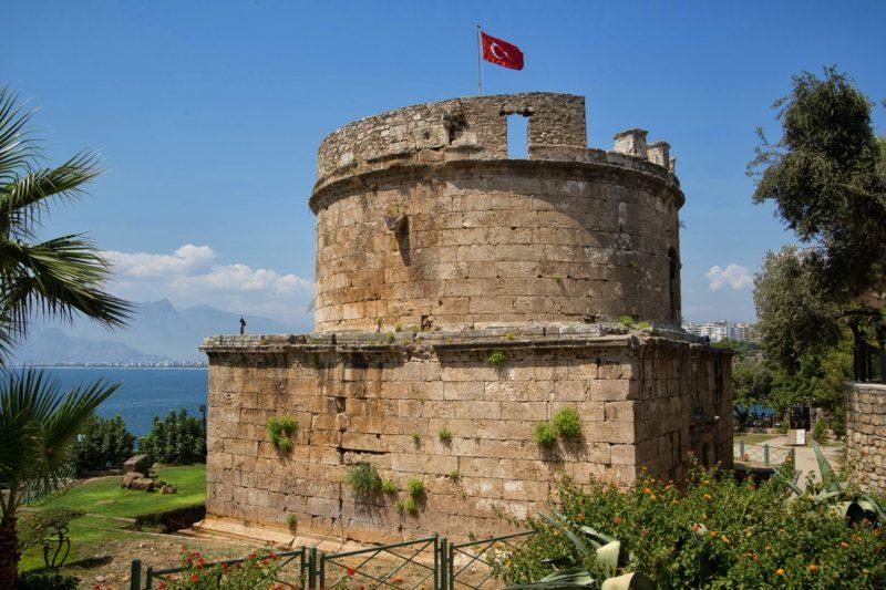 Башня Хдырлык — что посмотреть в Анталии