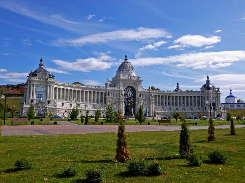 Дворец Земледельцев — Что посмотреть в Казани за 1 день