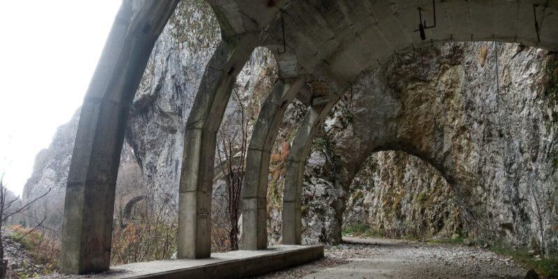 Краснопольское шоссе Адлер - Сочи пешком