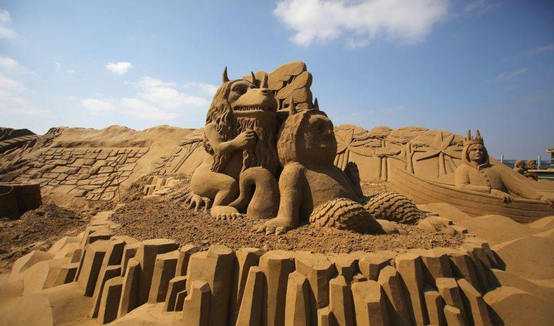 Музей песчаных скульптур Sandland в Анталии