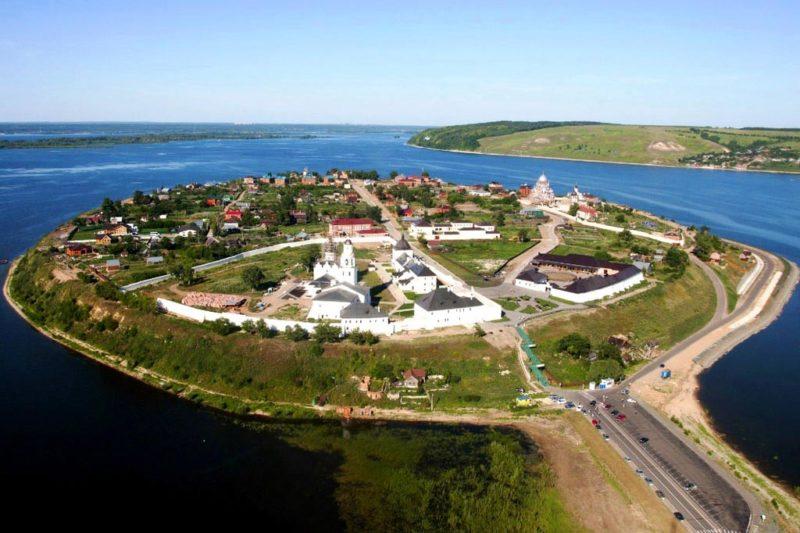 Свияжск остров град — что посмотреть за пределами Казани за 1 день