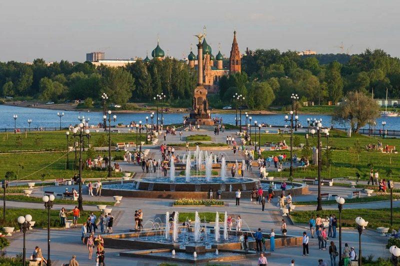 Ярославль по дороге в Казань