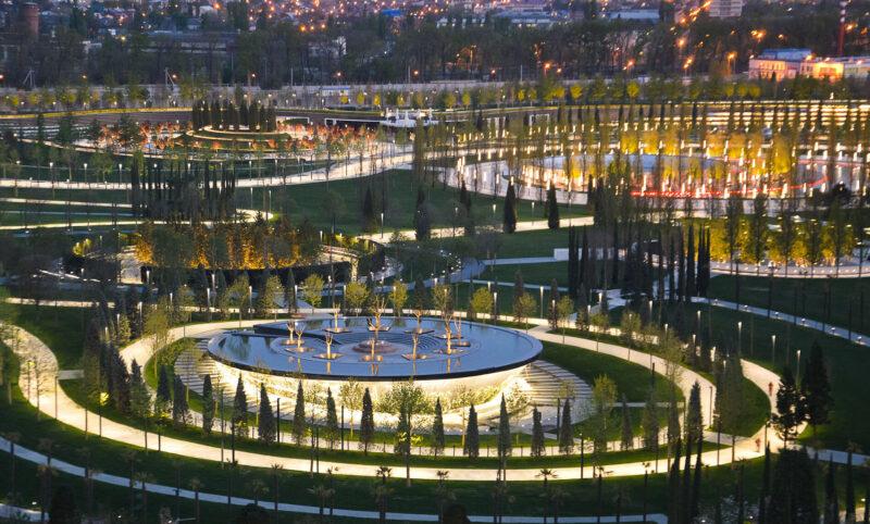 Парк Галицкого — главная достопримечательность Краснодара