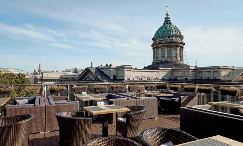 Видовые рестораны в Санкт-Петербурге: Terassa