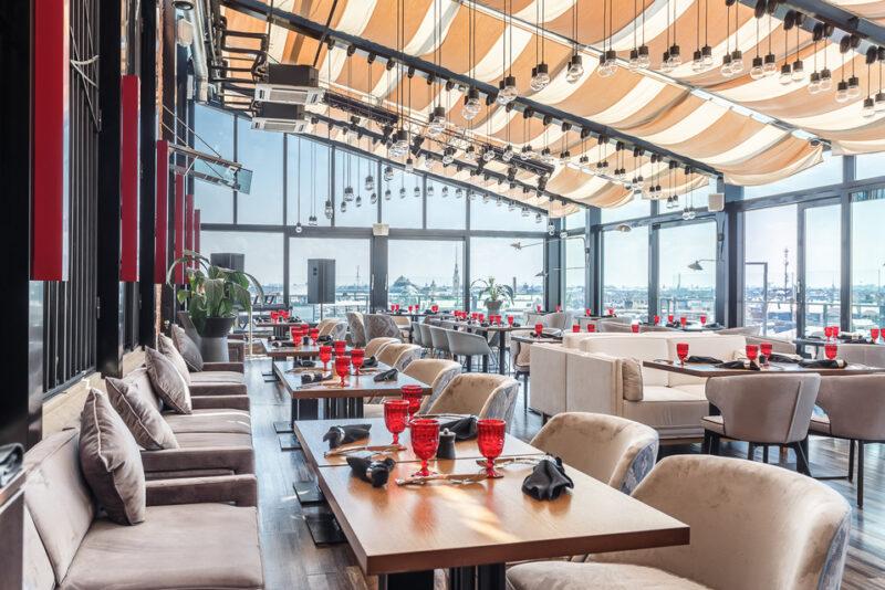 Панорамный ресторан Невесомость