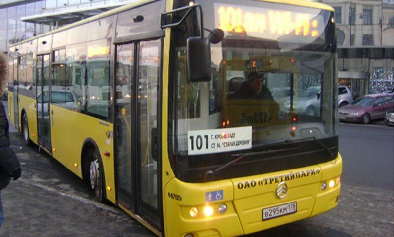 Как добраться до Кронштадта из Санкт-Петербурга на автобусе