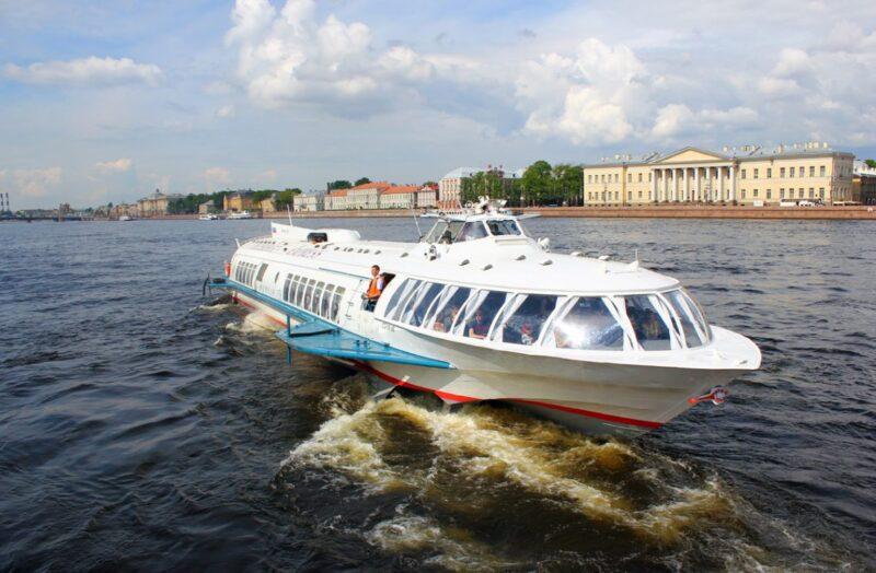 Как добраться до Кронштадта из Санкт-Петербурга на метеоре