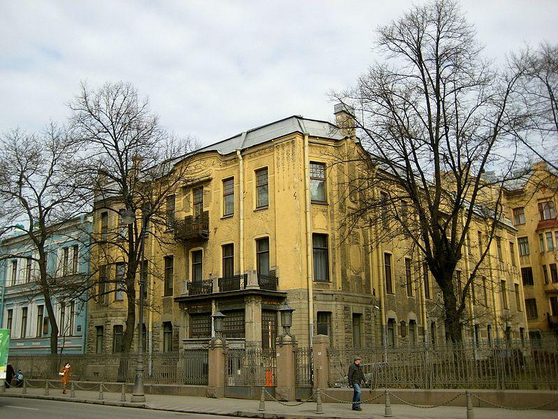 Лидваль доходный дом в СПб