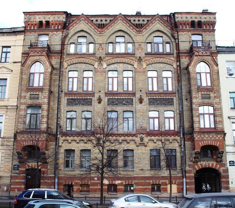 Доходный дом Штрауса в Петербурге