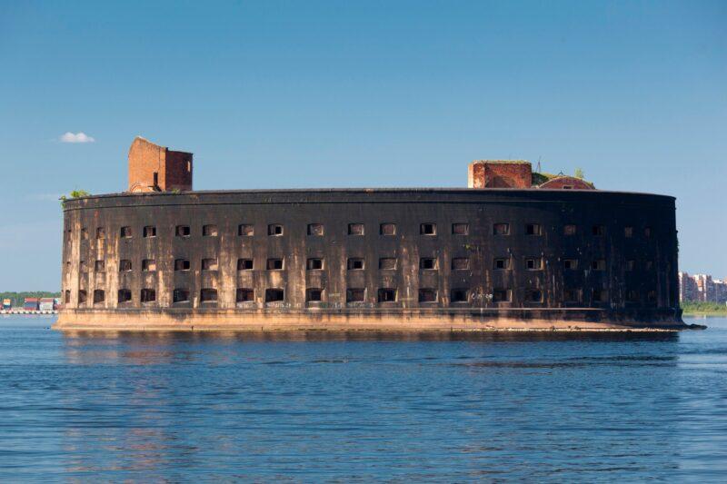Форт Александр 1 Чумной, экскурсии по фортам Кронштадта