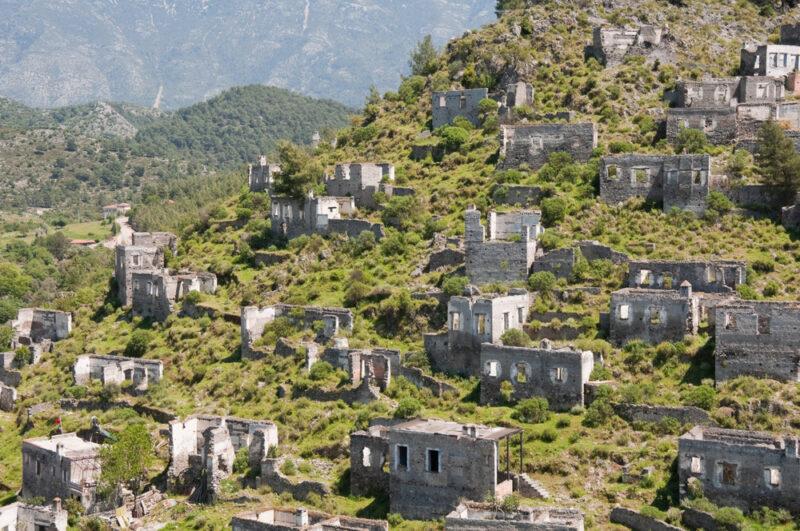 Деревня Каякей Турция