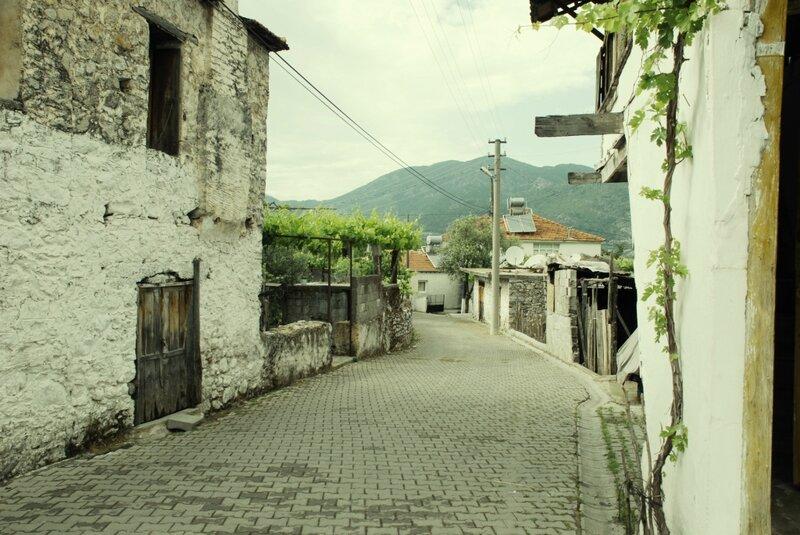 Деревня Узюмлю в Турции