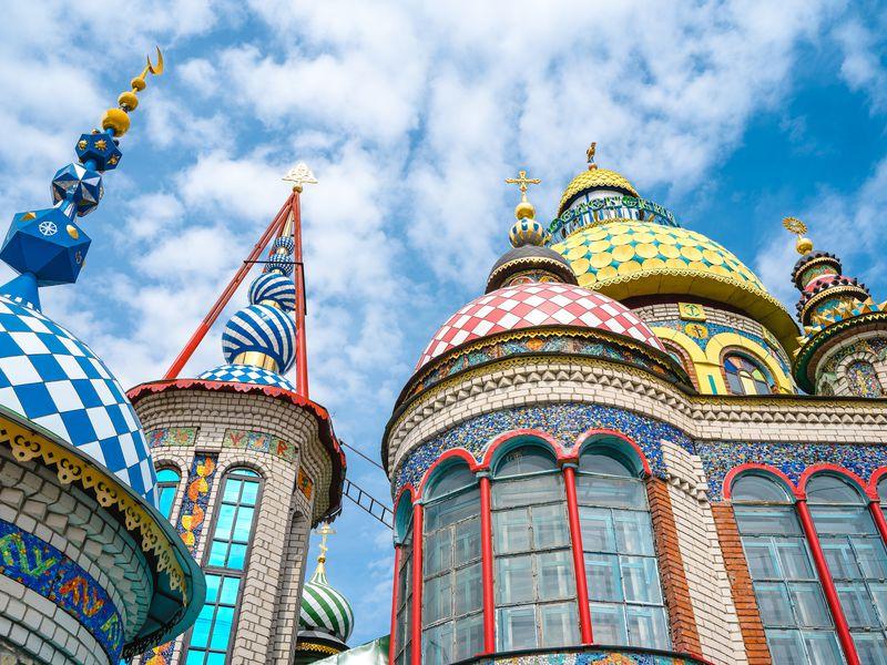 Цена индивидуальной экскурсии в Свияжск из Казани и Храм всех религий