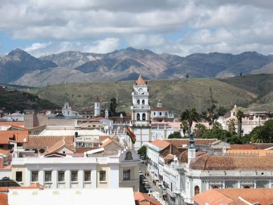 Сукре столица боливии