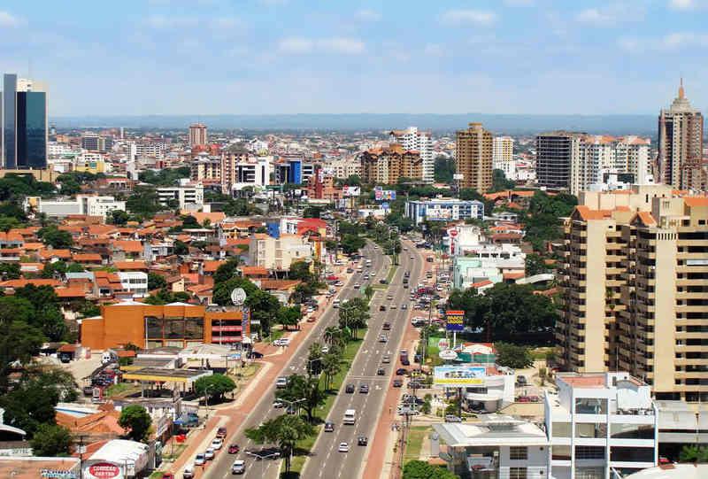 Крупные города Боливии